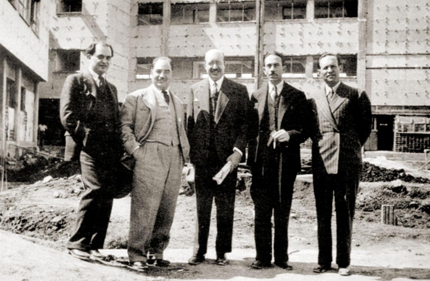 Inicios del Instituto Nacional de Cardiología - Ignacio Chávez.