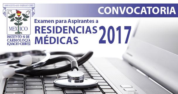 Convocatoria a Residencias Médicas 2017